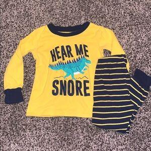 Carters Baby Boys PJ Set SZ.2 T